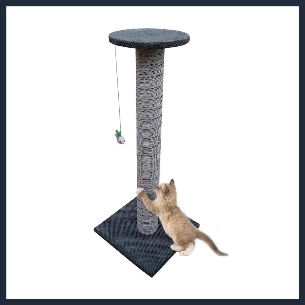 100cm Tall Handmade Scratching Post
