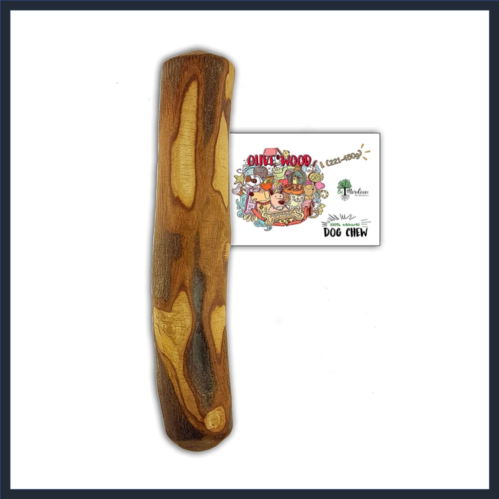 Bio Mordiscos Olive Wood Dog Chew