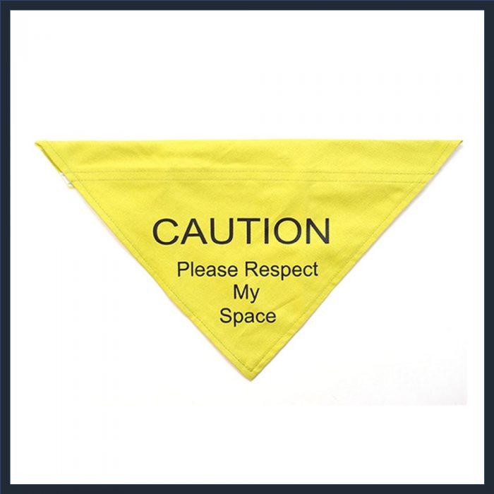 ANCOL Respect My Space Warning Bandana