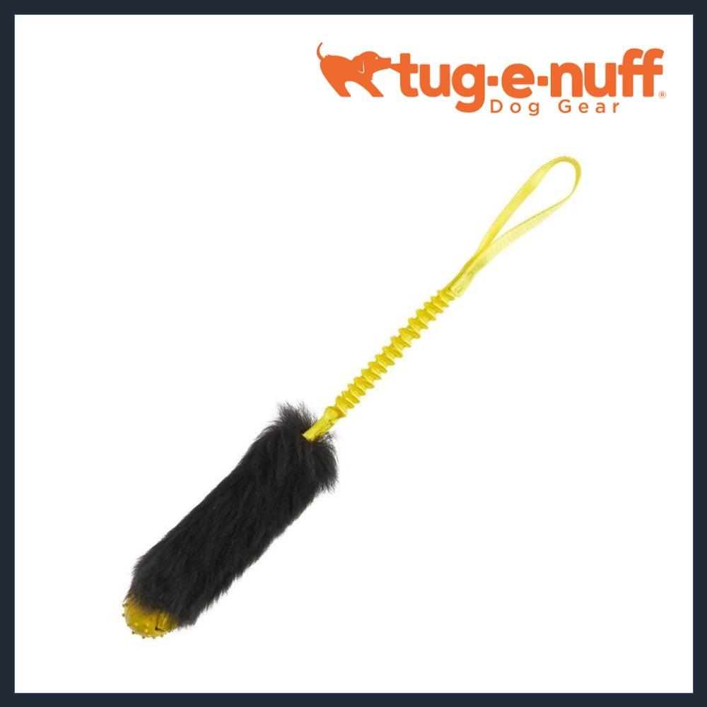 TUG-E-NUFF Sheepskin Ball Bungee Tug – Rubber Ball