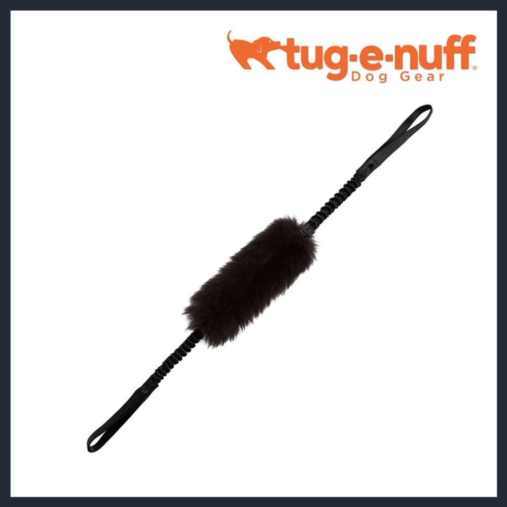 TUG-E-NUFF Double Handled Sheepskin Bungee Tug